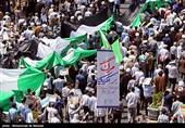 """حضور دشمنشکن مردم 950 شهر ایران در راهپیمایی روز قدس / """"نه بزرگ"""" ملت ایران به معامله قرن / شکست معامله قرن و تثبیت آرمان فلسطین + تصاویر"""