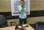 برملا شدن راز اسلحه کمری مأمور قلابی در ایستگاه مترو