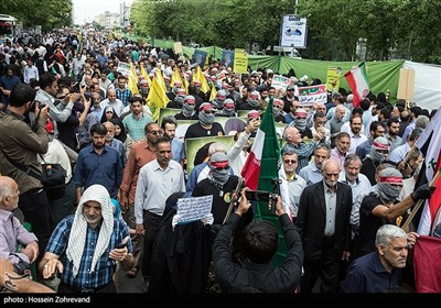 Quds Day Rally Held across Iran