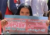 نه به معامله قرن  روایت تصاویر از خروش انقلابی مردم استان سمنان در روز جهانی قدس