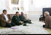 دیدار صمیمی فرمانده سپاه کردستان با یادگاران دوران دفاع مقدس بهروایت تصویر