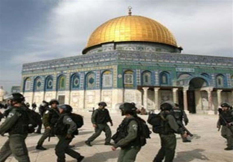 تجاوزات مستمر صهیونیستها به مسجدالاقصی/ هیئت امنیتی مصر وارد غزه شد
