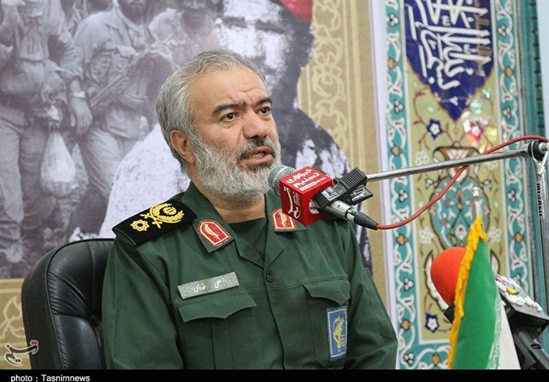 Persian Gulf A Hell for US: IRGC General