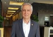 مربی تیم ملی تماشاگر ویژه فینال جام حذفی