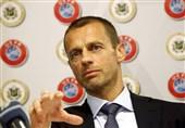 تکذیب تعیین ضرب الاجل از سوی رئیس یوفا برای پایان لیگهای اروپایی