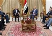 دیدار برهم صالح و و ایرج مسجدی ؛ تاکید بر اهمیت تقویت روابط تهران-بغداد
