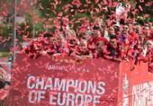 فوتبال جهان|جشن قهرمانی لیگ قهرمانان اروپا در بندر لیورپول + تصاویر