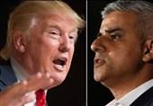 ادامه جنگ لفظی بین شهردار لندن و رئیس جمهور آمریکا