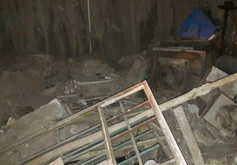 تهران| انفجار خونین در محل استراحت کارگران + تصاویر
