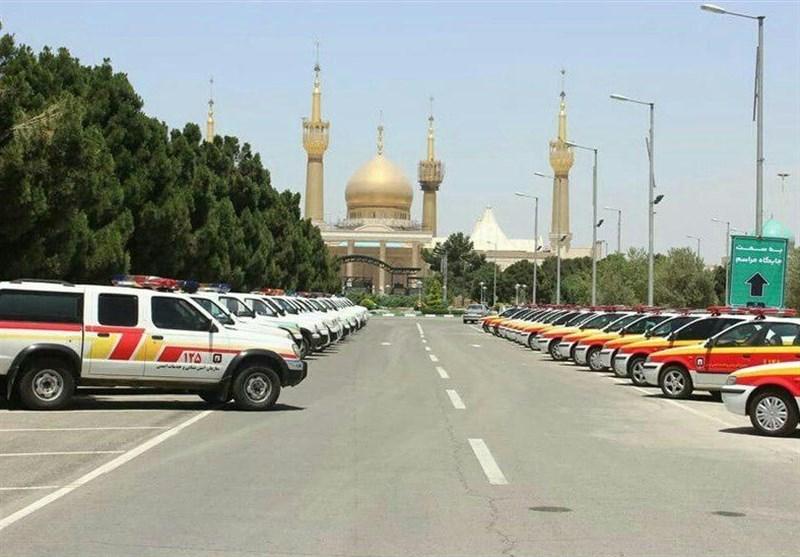 آمادهباش 550 آتشنشان در سیامین مراسم ارتحال حضرت امام خمینی