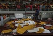 خسارت یکونیم میلیاردی فینال جام حذفی به ورزشگاه فولاد/ در انتظار برخورد با مقصران
