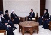 دیدار اسقف صربستان با بشار اسد؛ تاکید بر اهمیت مقابله با دخالتهای خارجی
