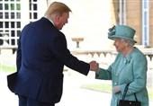 حضور ترامپ در ضیافت ناهار ملکه انگلیس