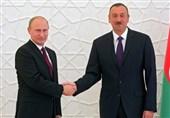 گفتگوی پوتین و علیاف در مورد تقویت همکاریهای دوجانبه