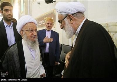 امام خمینی (رح) کی یاد میں علما قم کی یادگار تقریب