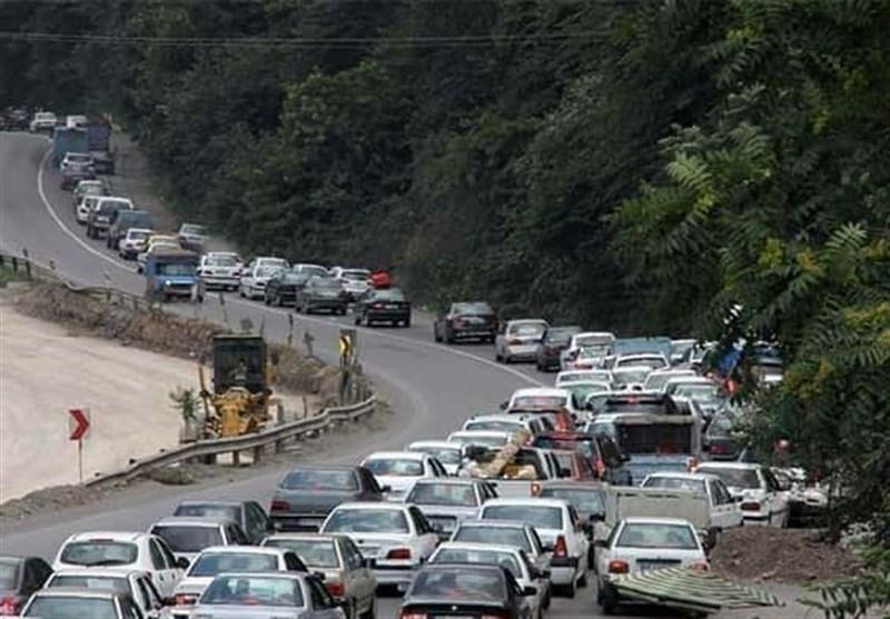 تهران| محور هراز برای بازگشت مسافران فردا یکطرفه خواهد شد