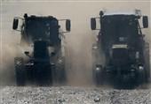 رقابت مهیج تراکتورسواران در روستوف