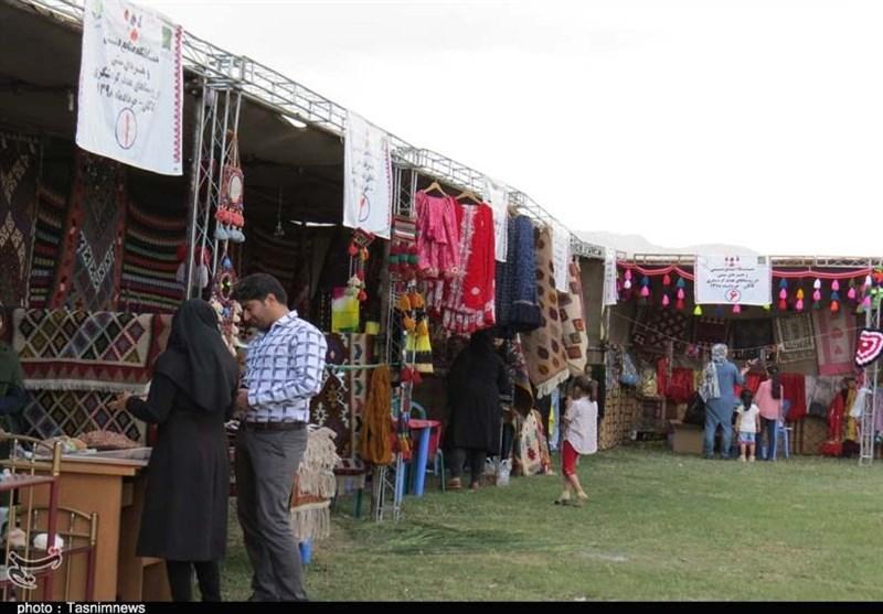 نمایشگاه صنایع دستی قزوین آغاز به کار کرد