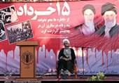 کرمان  ایستادگی مردم ایران رمز پیروزی و پویایی انقلاب است