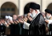 اقامه نماز عید فطر به امامت امام خامنهای
