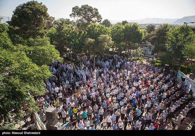 نماز عید فطر در استان علوی تبار مازندران اقامه شد