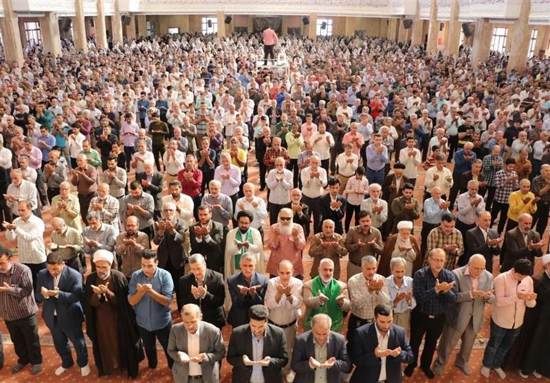 نماز وحدتبخش عید فطر در استان گلستان اقامه شد+تصاویر