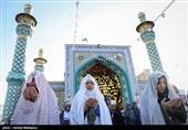 اقامه نماز عید فطر - امامزاده پنجتن و پل امام علی(ع)