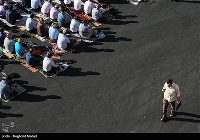 اقامه نماز عید فطر - میدان شهید طهرانی مقدم