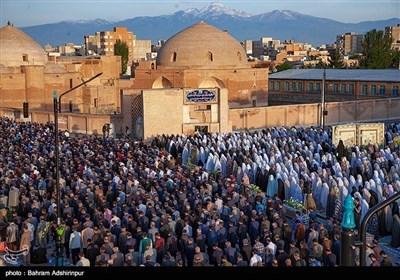 اقامه نماز عید فطر - اردبیل