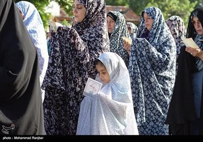 اقامه نماز عید فطر - رشت
