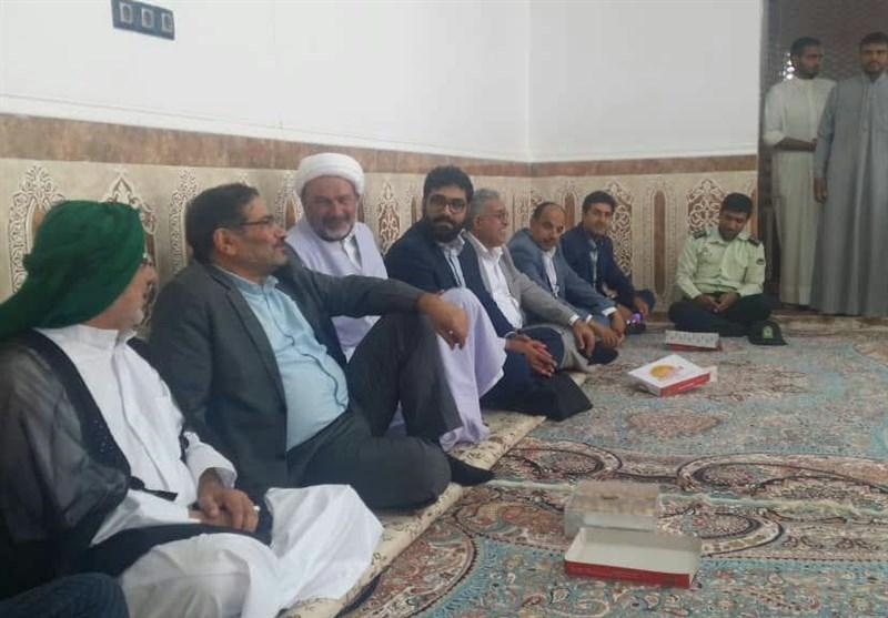 شمخانی در روز عید فطر به شهر سیلزده بستان رفت+تصاویر
