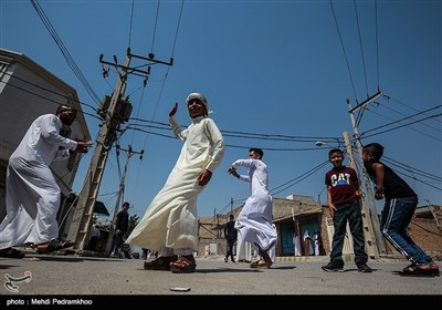 آیین عید سعید فطر در شیبان