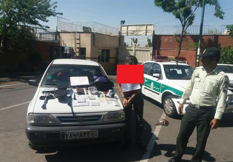 تهران| دستگیری سارق خودرو با شلیک 30 گلوله