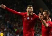 فوتبال جهان| پایان ناکامی یک ساله رونالدو با گلزنی مقابل سوئیس