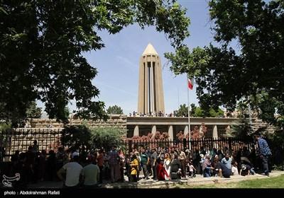 مسافران تعطیلات عید فطر در همدان