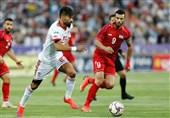 پیروزی یک نیمهای تیم ملی فوتبال ایران مقابل سوریه