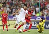 المنتخب الإیرانی لکرة القدم یحقق فوزاً ثمیناً على نظیره السوری+صور