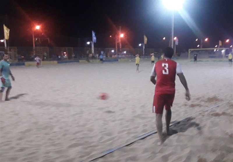 لیگبرتر فوتبال ساحلی| باخت تیم دریانوردان بوشهر مقابل تیم موجسواران نوشهر