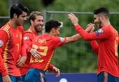 انتخابی یورو 2020| برتری پرگل اسپانیا در خانه جزایر فارو/ اوکراین، صربستان را در هم کوبید