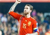 راموس پس از ثبت رکورد بازی در تیم ملی اسپانیا: میخواهم 200 تایی شوم!
