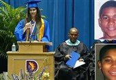 Valedictorian's Mic Muted after She Honors Victims of US Police Brutality (+Video)