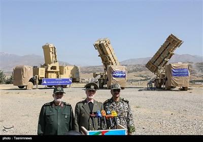 رونمائی از سامانه سلاح پدافند هوایی پیشرفته (( 15 خرداد ))