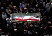 """مردم اندیمشک با """"شهید افراسیابی"""" وداع میکنند"""