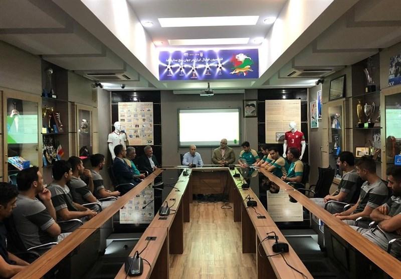 برگزاری اولین اردوی تیم ملی فوتسال برای حضور در جام جهانی فوتسال 2020/ دیدار صمیمانه تاج و نماینده مردم رشت با فوتسالیستها