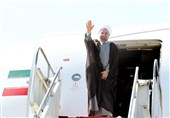 صدرحسن روحانی ایک اعلی سطحی وفد کے ہمراہ ترکی پہنچ گئے