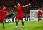 لیگ ملتهای اروپا| پرتغال در خانه جشن قهرمانی برپا کرد