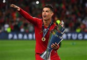 فوتبال جهان| رونالدو: قهرمانی در لیگ ملتها کار سختی بود/ تا جایی که انگیزه و قدرت داشته باشم برای پرتغال بازی خواهم کرد