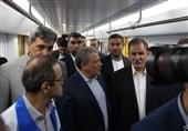 حضور جهانگیری در شرکت «واگنسازی تهران»