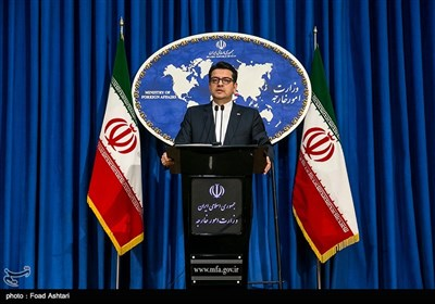 Spokesman Raps German FM's Irresponsible Comments on Iran Riots