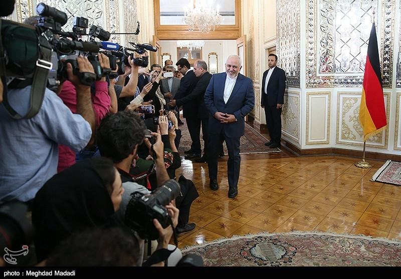 دیدار وزرای امور خارجه ایران و آلمان